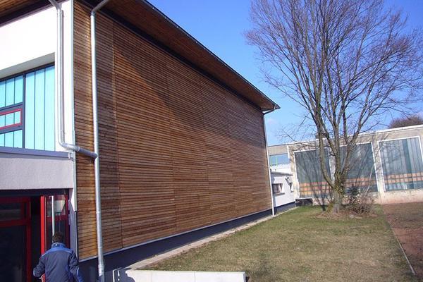 Fassadenarbeiten der Dereh-Bedachung GmbH